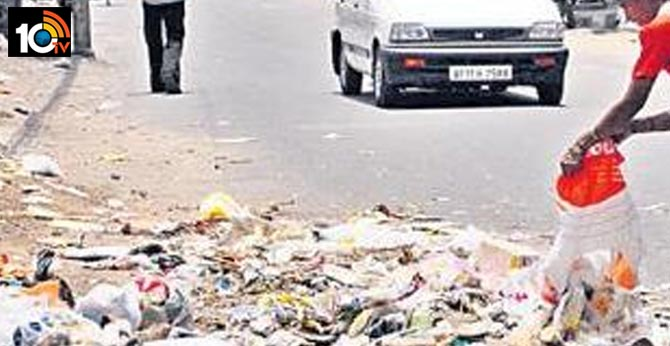 rs 500 fine for throwing dust on roads