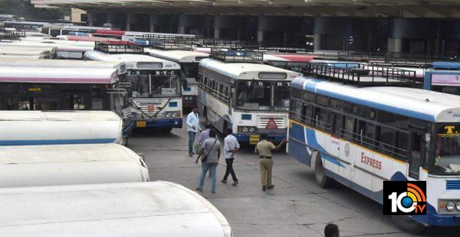 will start RTC Buses in telangana state from May 19 during Lockdown?