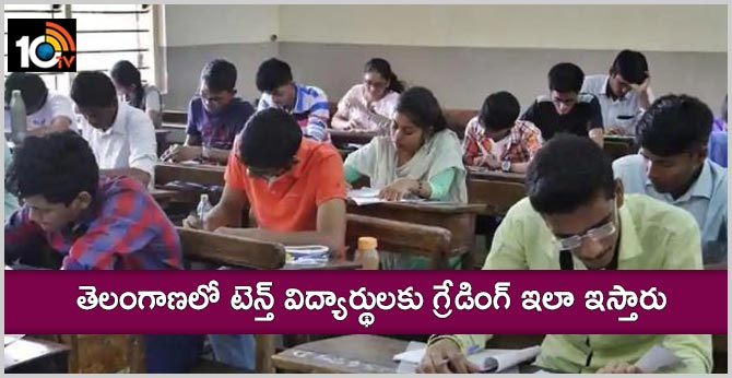 grading process for tenth class students in telangana