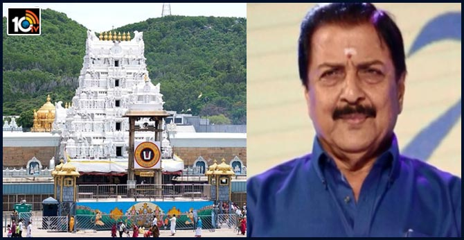 father of Surya booked for controversial comments on TTD