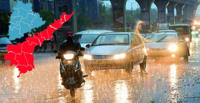 heavy rain alert for telugu states