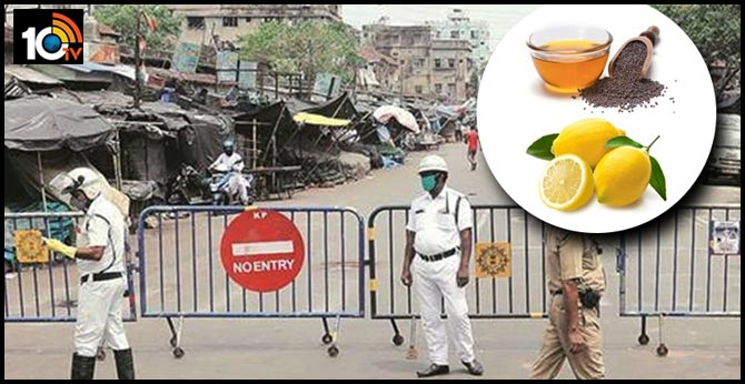 Bengal cops use mustard oil, lemon water to battle Covid, claim many recovered with remedies
