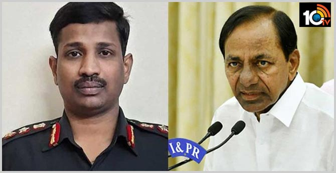 Col Santosh Babu's family has Rs. 5 crores CM KCR