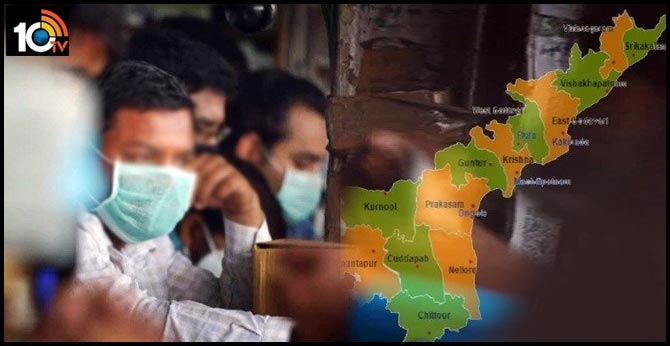 Corona in AP: Details of District-wise Cases