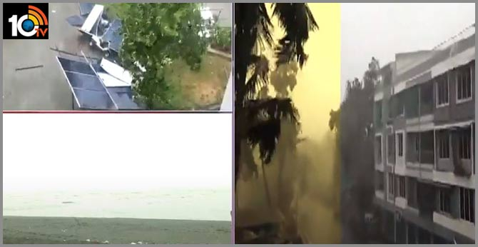 Cyclone Nisarga Makes Landfall Close To Alibaug Near Mumbai