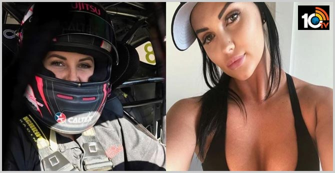 Get off my page! Australian supercars racer-turned-porn star Renee Gracie is angry with Indians