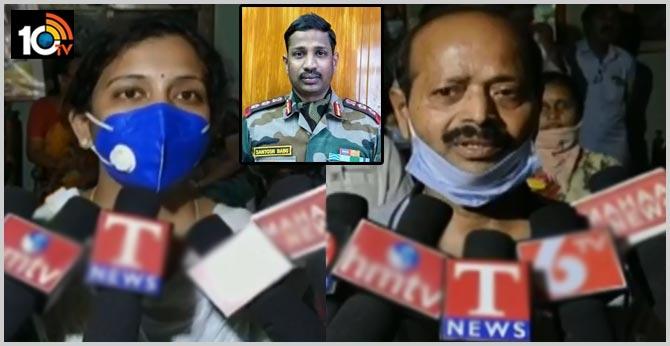 Col Santosh Babu Family Happy Over CM KCR Help