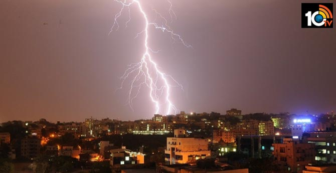 Monsoon Thunderstorms Claim 107 lives in Bihar and UP in one day