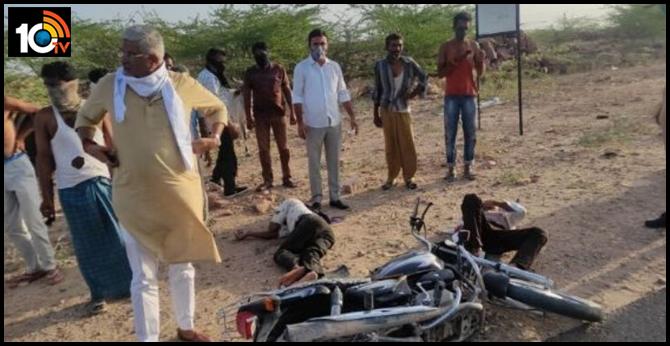 Rajasthan : Bjp Central minister sent road accident victims to hospital via escort van