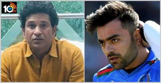 Sachin Tendulkar Consoles SRH Star Rashid Khan After His Mother Passes Away