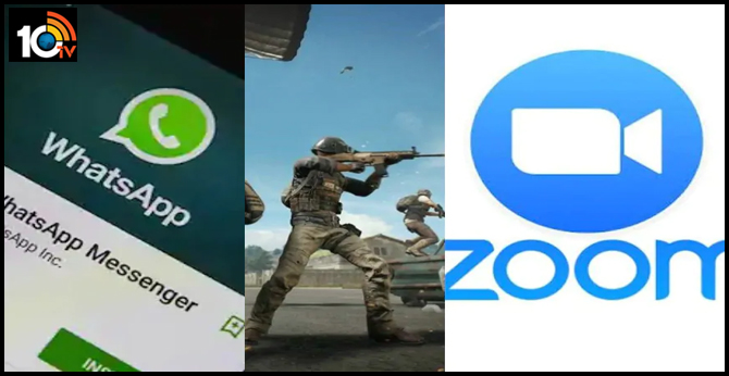 WhatsApp, PUBG and Zoom are not banned in India
