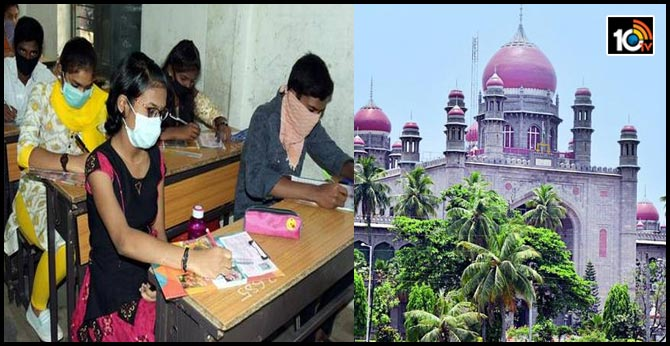 high court green signal for tenth class exams in telangana