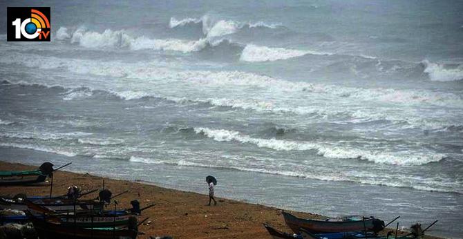 nisarga cyclone land fall begins