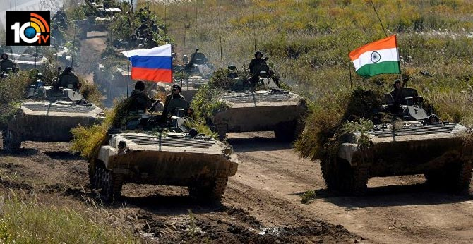russia to send weapons to india