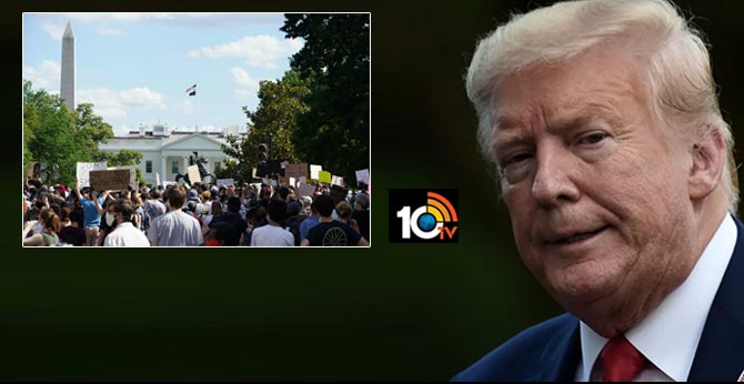 Donald Trump Was Briefly Taken To Underground Bunker During White House Protests: Report