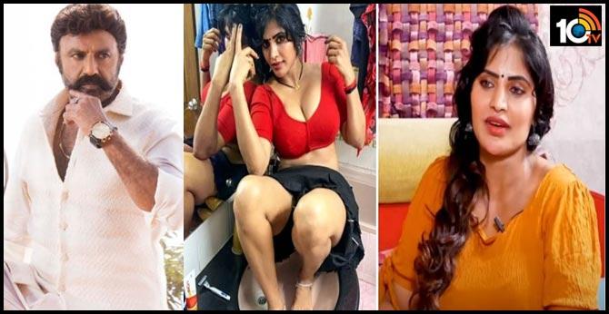 RGV Nagnam Heroine Sweety About Nandamuri Balakrishna