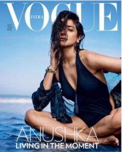 Anushka Sharma Looks Hot On The Cover Page Of Vogue India Magazine