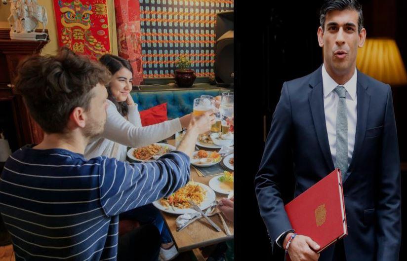 United Kingdom,Chancellor Rishi Sunak,food restaurant discounts, eat out take out uk meal, voucher rishi sunak speech budget,