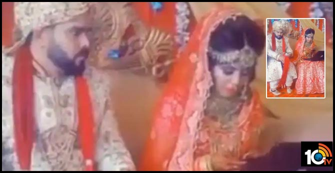 bride captured working on laptop on wedding day ignores husband