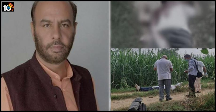 former-bjp-district-chief-sanjay-khokhar-shot-dead-during-morning-walk-in-baghpat-uttar-pradesh