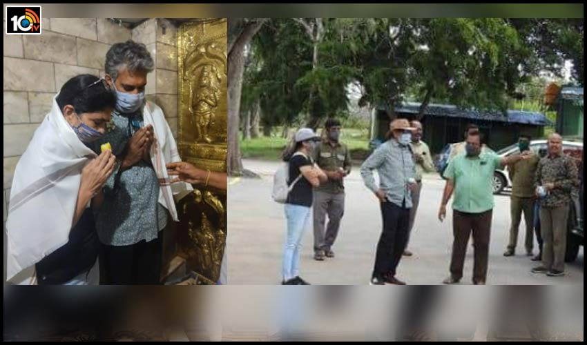 director-ss-rajamouli-couple-visits-himavad-gopalaswamy-hill1