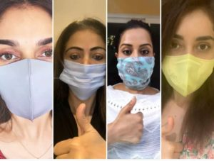 Celebrities with Mask