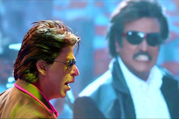 Rajinikanth - Shah Rukh Khan