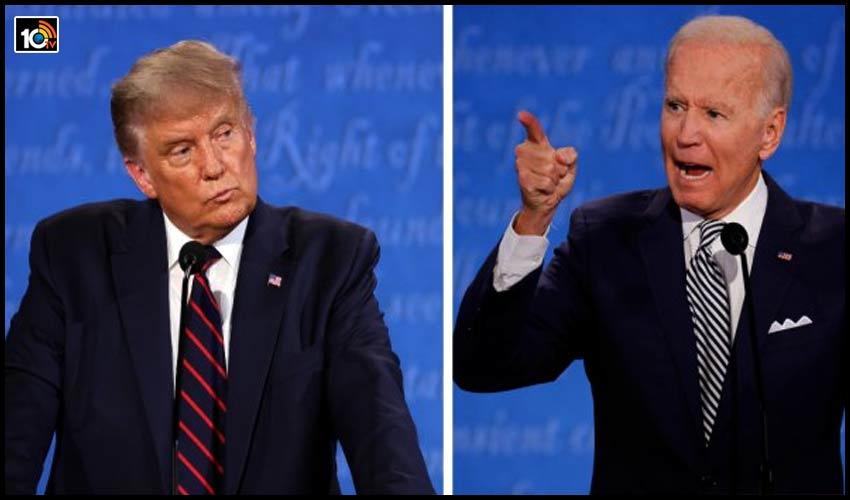 Trump నోరు మూసుకో.. అని తిట్టి పోసిన Joe Biden