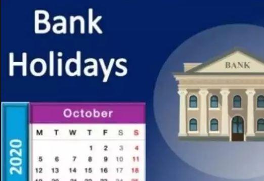 October నెలలో Bank Holidays