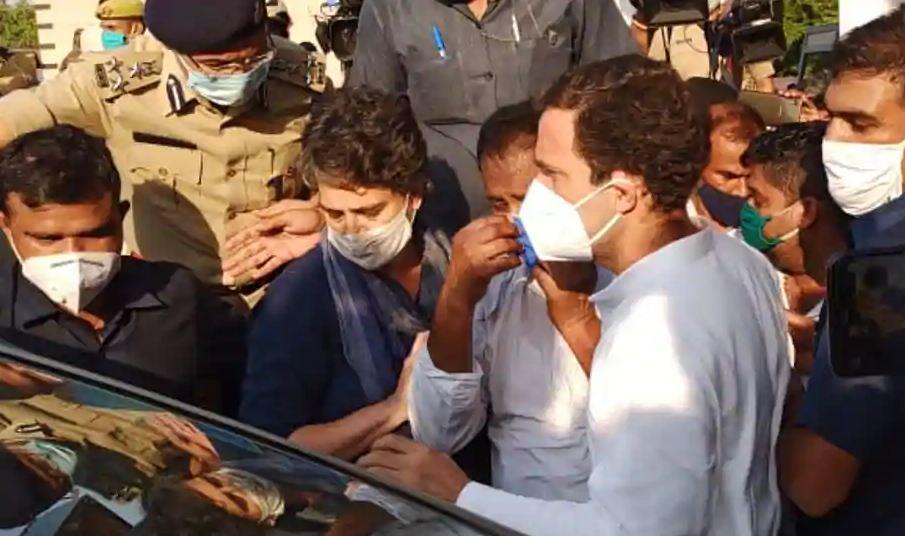 Rahul Gandhi, Priyanka allowed to visit Hathras gang-rape victim's family