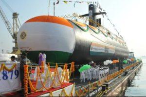 Indian navy subnarine INS Vagir