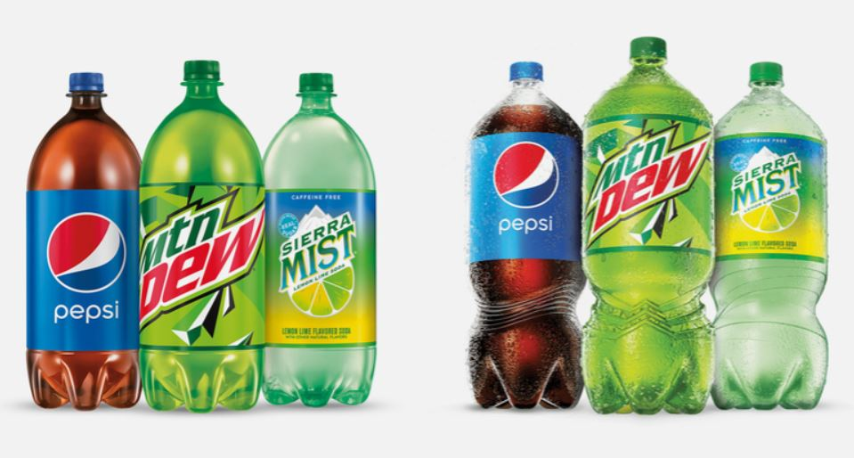 Pepsi unveils first 2-liter bottle redesign