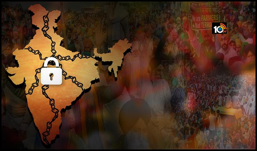 నెవ్వర్ బిఫోర్.. రగులుతున్న రైతులు.. నేడే భారత్ బంద్