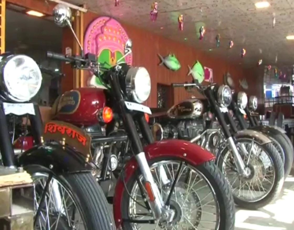 Thali eating contest that awards winners a Royal Enfield Classic