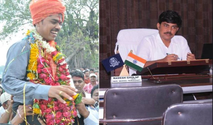 Maharashtra _ bangle seller Ramesh gholap to an IAS