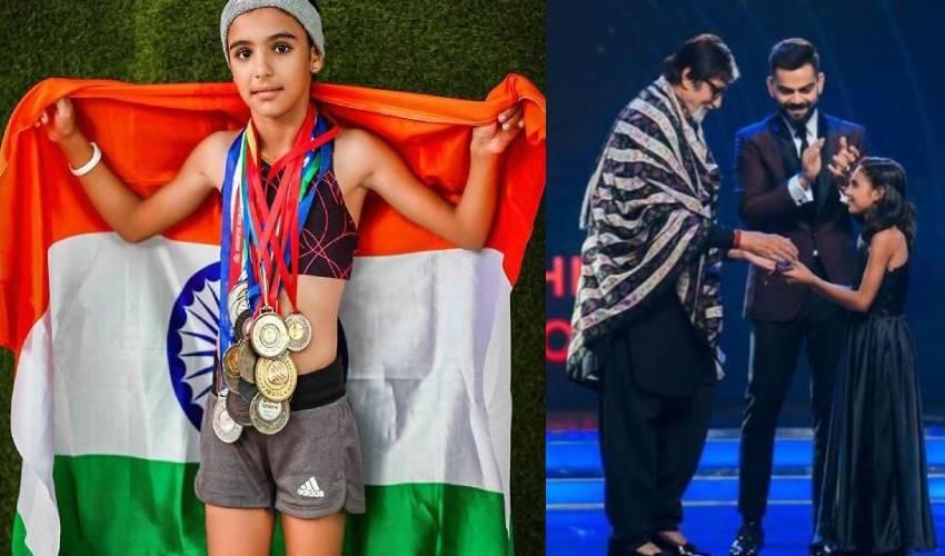 jodhpur sports wonder kid of india athlete pooja vishnoi