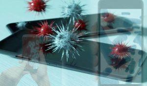 Coronavirus stay long time on Smartphone Screens