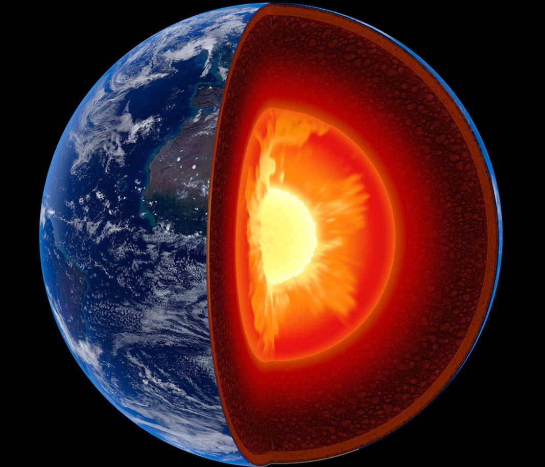 Another New Inner most Core in the center of earth's core