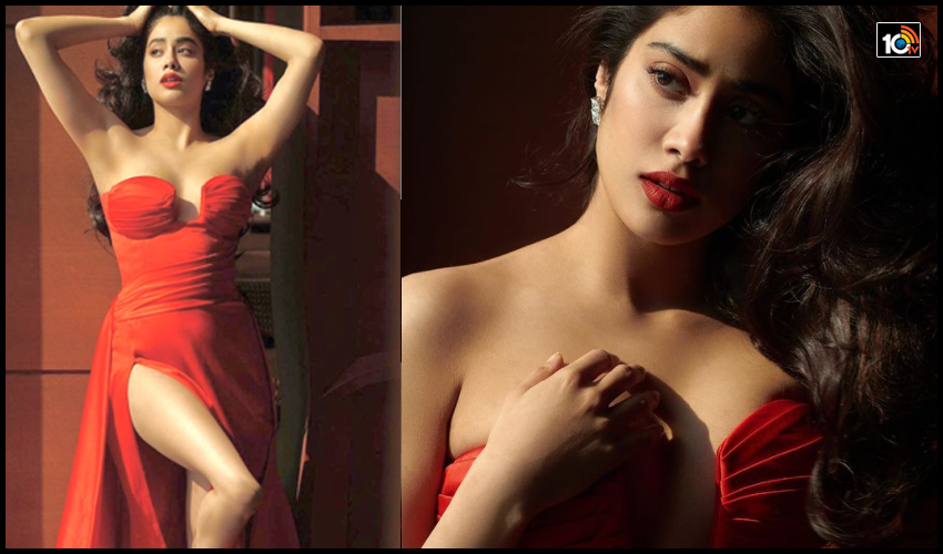 Janhvi Kapoor : అందాల ఆరబోత అదిరింది..