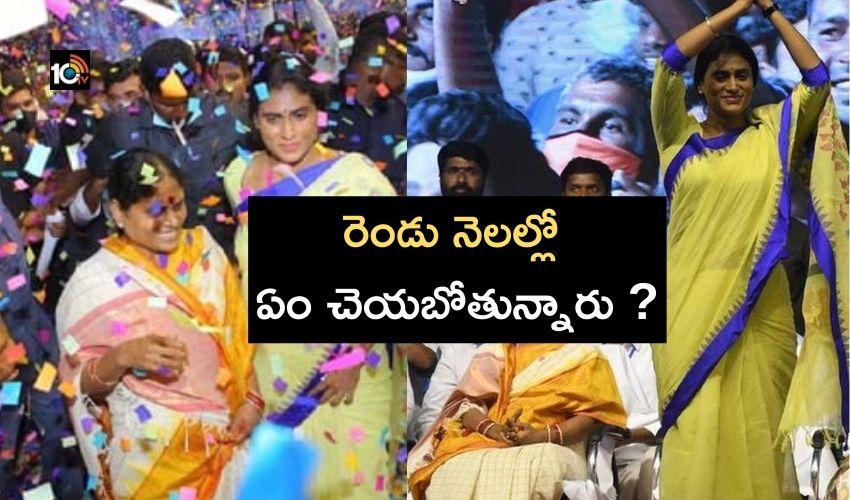 YS Sharmila : దీక్షలతోనే పాలిటిక్స్ లోకి షర్మిల ఎంట్రీ..ఈ రెండు నెలల్లో ఏం చెయబోతున్నారు ?