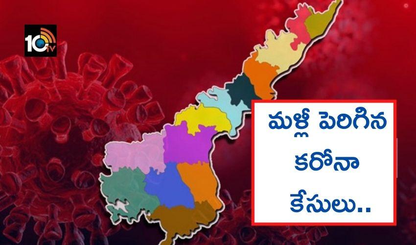 Andhrapradesh : ఏపీలో మళ్లీ పెరిగిన కరోనా కేసులు