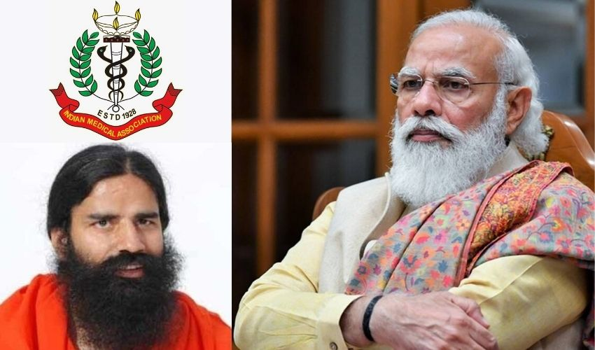 Ramdev Baba: రామ్దేవ్ తప్పుడు ప్రచారాన్ని ఆపించమని ప్రధానికి ఐఎంఏ వినతి