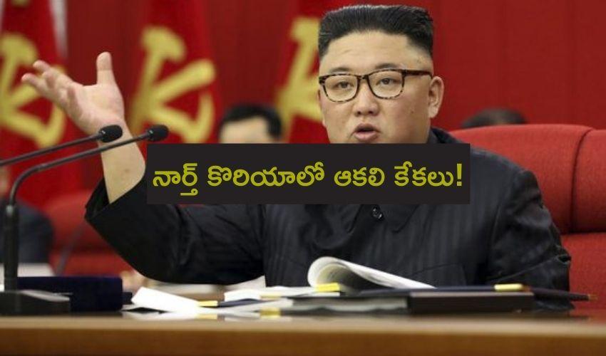 Kim Jong Un : నార్త్ కొరియాలో ఆకలి కేకలు!