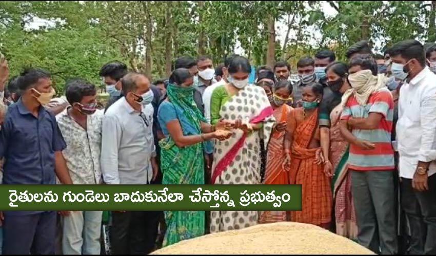YS Sharmila: రైతులను గుండెలు బాదుకునేలా చేస్తోన్న ప్రభుత్వం