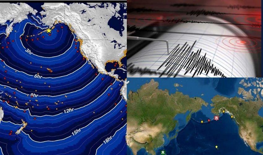 US Earthquake : అలాస్కాలో 8.2 తీవ్రతతో భూకంపం..సునామీ హెచ్చరికలు జారీ