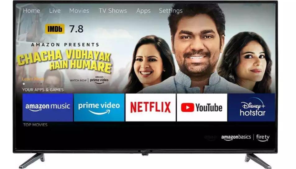 Amazonbasics (43 Inch) Fire Tv Full Hd Smart Led Tv