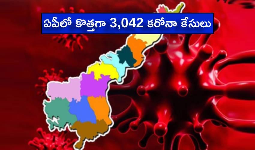 Andhra Pradesh Coronavirus : ఏపీలో కొత్తగా 3,042 కరోనా కేసులు.. 28 మంది మృతి