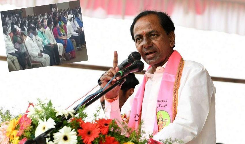 Huzurabad : హుజూరాబాద్ లో ఇల్లు లేకుండా ఏ దళిత కుటుంబం ఉండకూడదు : కేసీఆర్