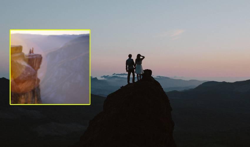 """Excursion : విహారయాత్రకు తీసుకెళ్లి భార్యను """"లోయలో"""" తోసిన భర్త"""
