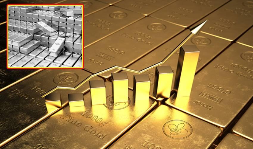 Gold Rate : స్వల్పంగా పెరిగిన బంగారం.. భారీగా తగ్గిన వెండి ధరలు